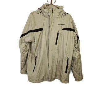 COLUMBIA Sportswear Jacket Mens Large Nylon Hooded